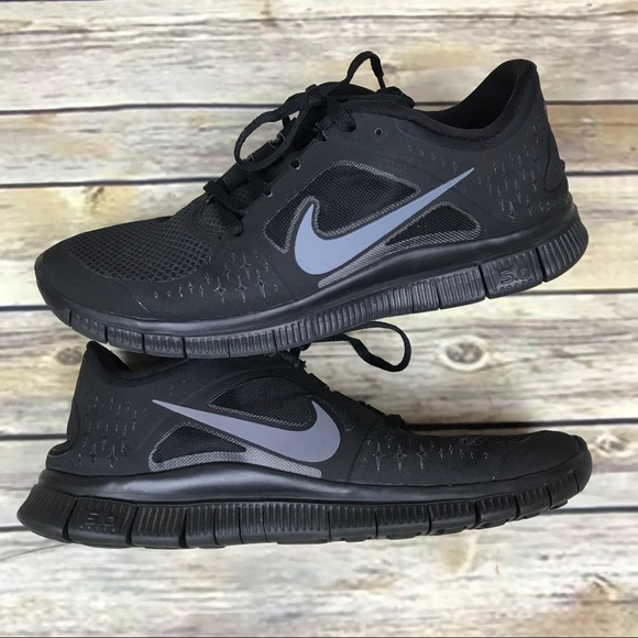 new product c358b 403eb Men's Nike Nike Free Run 3 5.0 size 9 Black Gray